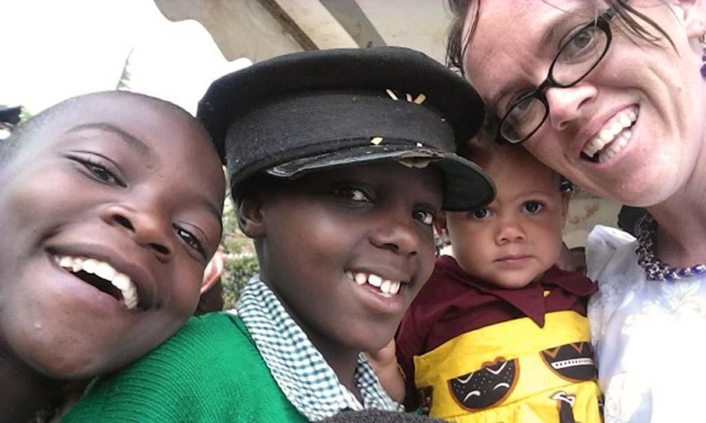 Z sierocińca z Ugandy
