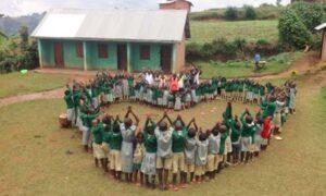 Życzenia od Dzieci z Ugandy