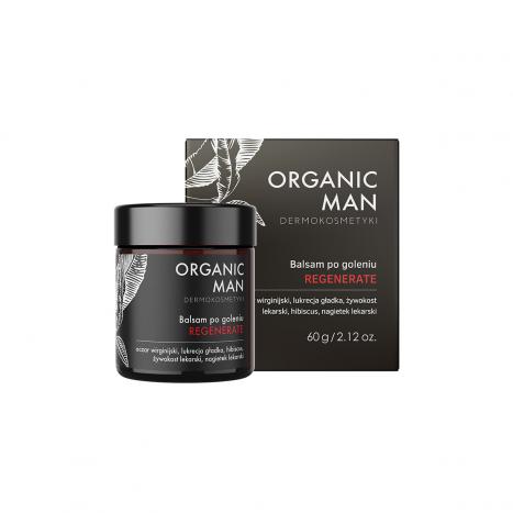 Balsam po goleniu regenerujący Organic Man