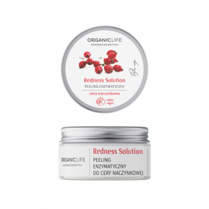 Cera naczynkowa – peeling enzymatyczny Redness Solution