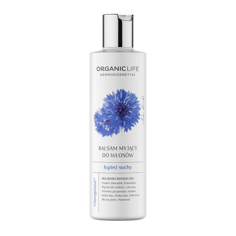 Łupież suchy – balsam myjący do włosów