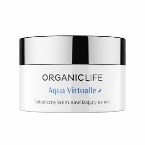 Nawilżający krem na noc Aqua Virtualle